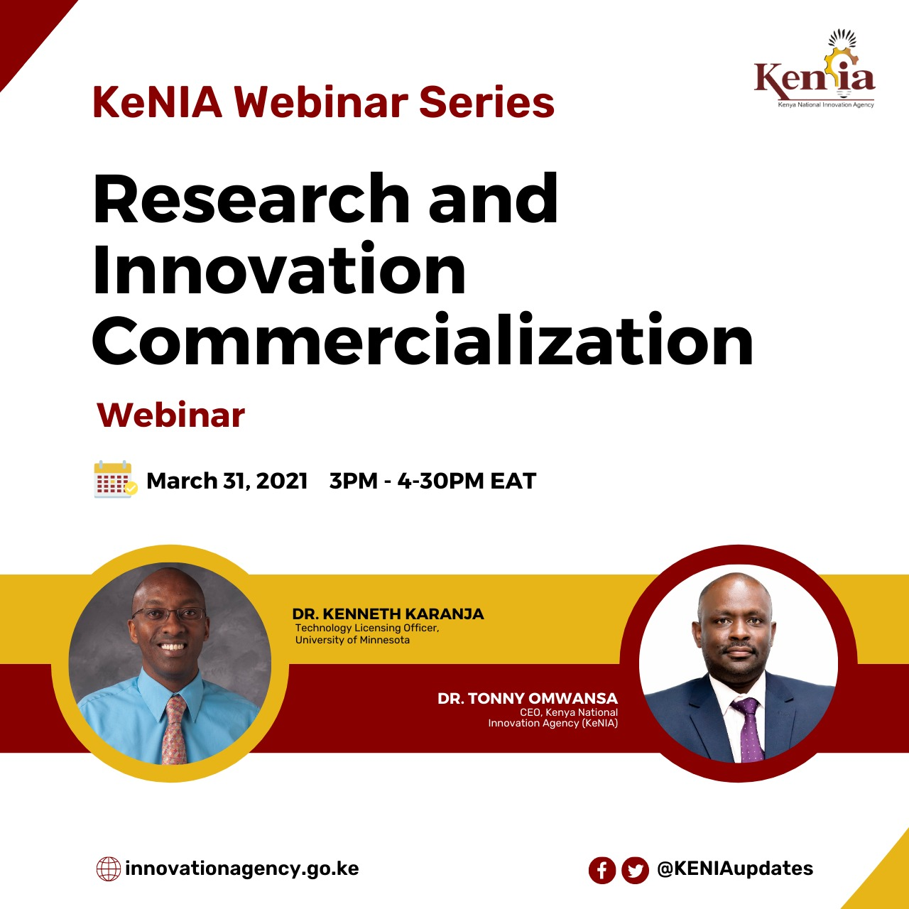 Research and Innovation Commercialization Webinar